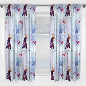 Disney Frozen 2 Element Curtains 54 Quot Drop Kids Bedroom