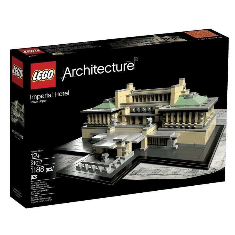 Lego Arquitecture 21017 Hotel Imperial  -  New and Sealed