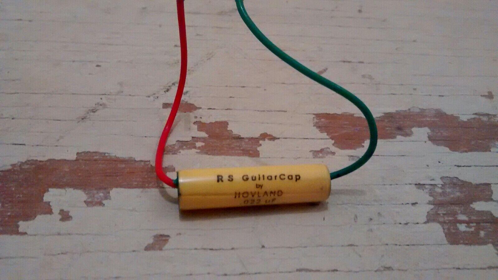 RS Guitarworks Guitar Cap Hovland USA Capacitor .022uf