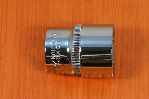 """Douilles clés à douille profond Noix brièvement écrou 6 pans 1//2/""""-24mm bolter"""