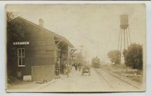1913-Milwaukee-Road-Easton-Minnesota-Railroad-depot-real-photo-RPPC
