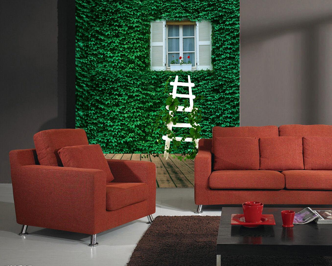 3D Vine Grün wood 2990 Paper Wall Print Decal Wall Wall Murals AJ WALLPAPER GB
