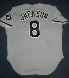 d371fcf6 Image is loading BO-JACKSON-AUTHENTIC-Rawlings-CHICAGO-WHITE-SOX-Grey-