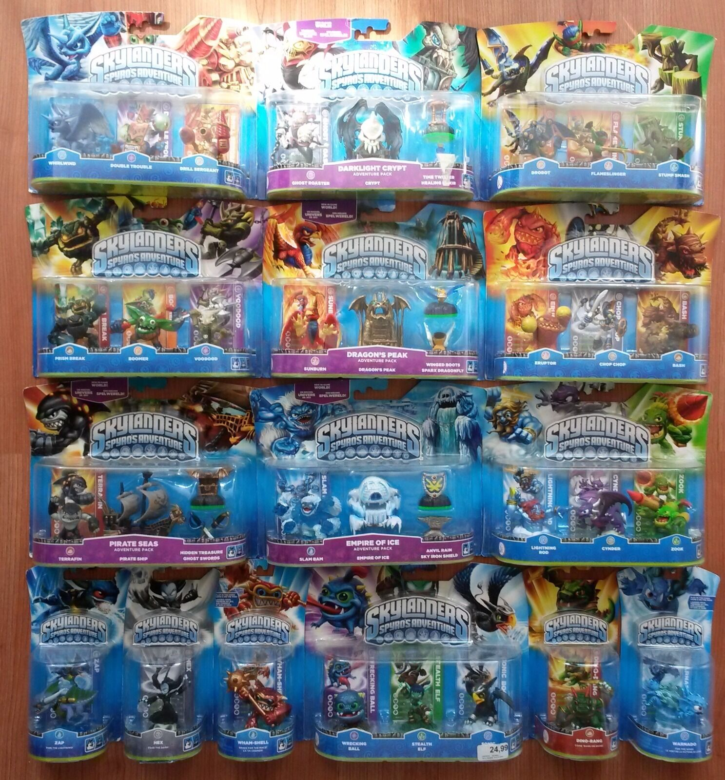 el mas de moda Skylanders Spyro's Adventure Huge Complete Set with with with 1 Limited Editions - Rare  te hará satisfecho