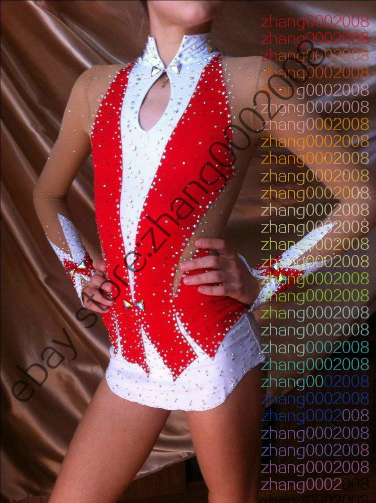 Stylish Rhythmic Gymnastics Leotard.Acrobatic Twirling Tap Dance RG Costume