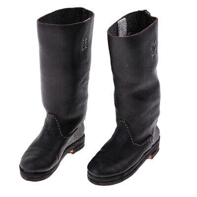 1 6 Scale PU-Leder Stiefel Männliche Schuhe Für 12-Zoll-Soldat Action Figure