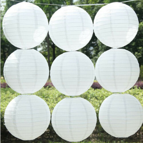 5pcs White LED Light White Balloon Lamp For Paper Lantern Wedding Party Decor