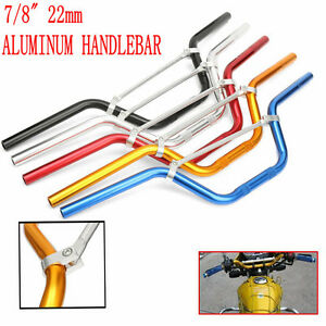 7-8-039-039-22MM-Guidon-Barre-Aluminum-Anodise-Moto-Cross-DirtPit-Bike-VTT-Quad-Enduro