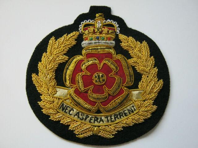 Duke of Lancasters 2015 Wire Embroidered Bullion Blazer Badge - British Army