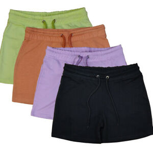 UK-WOMENS-LADIES-JERSEY-RUNNING-SHORTS-WITH-JUMBO-DRAW-8-14