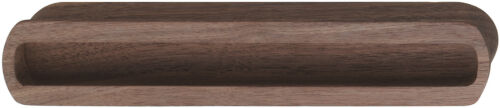 Häfele Clam Grip Recessed Handle Sliding Door Wood Real Natural to Paste On