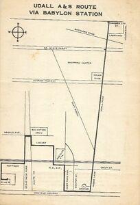 1971-BABYLON-TRANSIT-Bus-Schedule-Route-Map-Udall-Road-Abraham-amp-Strauss-Montauk