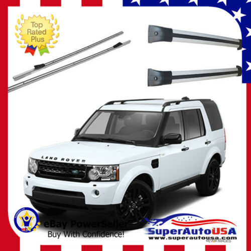 A Set Stowable Roof Rack For Land Rover LR4//LR3 Discovery 4 2010-2016