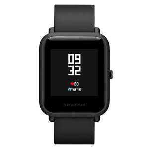 Xiaomi-Huami-Amazfit-Bip-Smartwatch-GPS-Schrittzaehler-Herzschlagmonitor-Schwarz