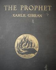 THE PROPHET by Kahlil Gibran 1923 FIRST EDITION 2nd Printing Alfred Knopf