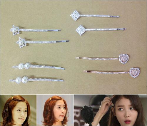 K-Pop Corée Fille Groupe Style Belle épingle à cheveux Set
