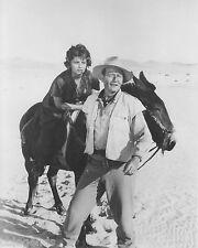 "John Wayne & Sophia Loren in ""Legend of The Lost""  8x10 B & W Reprint Photo"