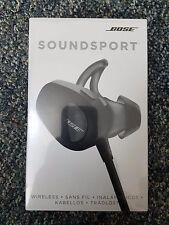Brand New Sealed Bose SoundSport Wireless In-Ear Headphone Black