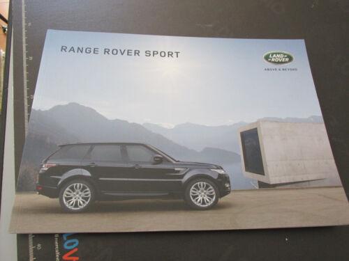LAND ROVER Range Rover Sport  prospetto brochure 100 pagine ITALIANO