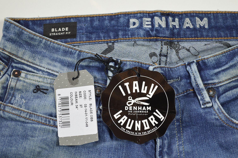 Denham Denham Denham Blade OBS Straigh Fit Damen Jeans Hose Denham Jeans Hosen sale 1-027 afc6e4