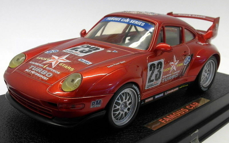 MCT 1 18 Scale Plastic - MCT01 Porsche 911 GT2 Red Race Car