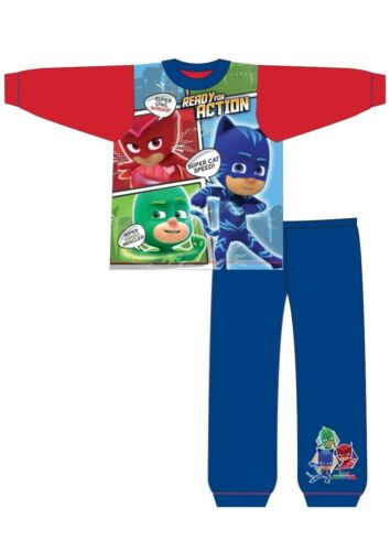 Boys Kids PJ Masks Pyjamas Shorts Full Length Pyjamas Nightwear PJs Cotton