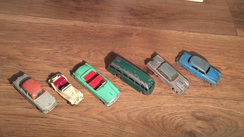 Job lot 6 Dinky toys Meccano Ltd