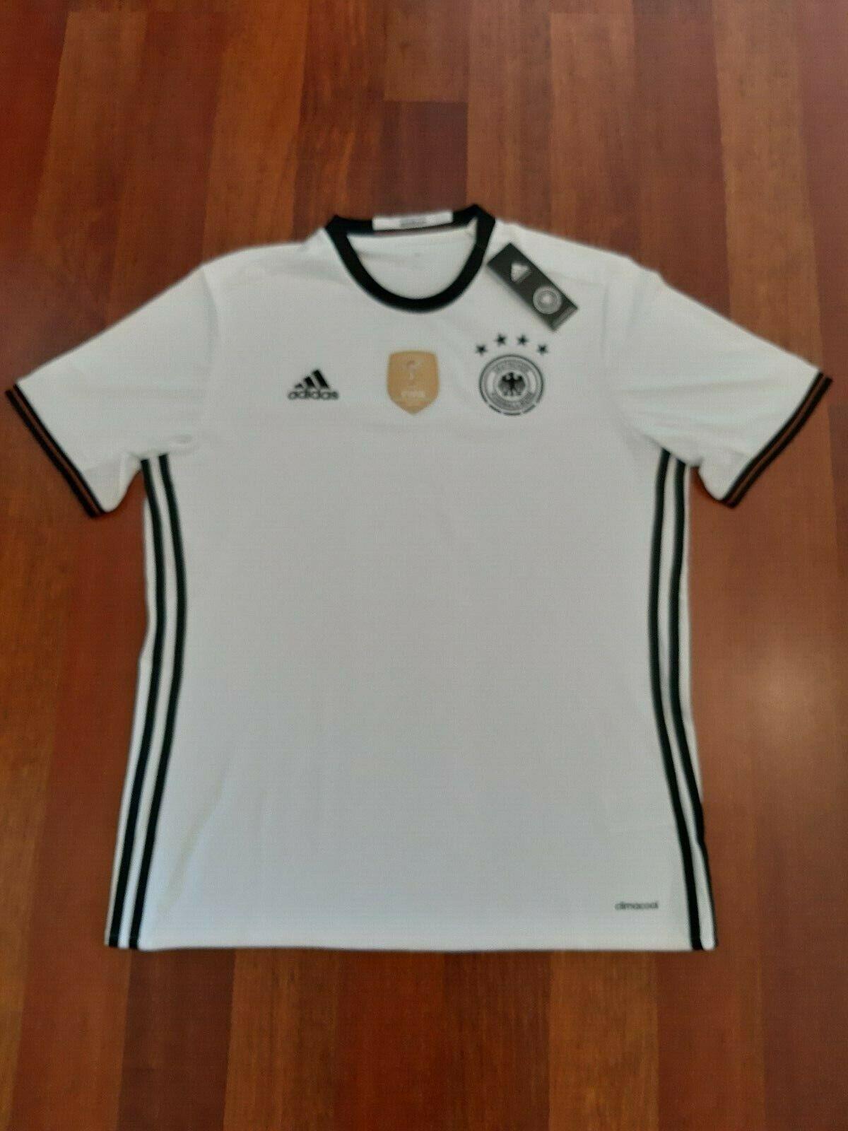 Original Adidas DFB Deutschland Home Trikot Heim EM Größe L weiß  | Spielzeug mit kindlichen Herzen herstellen