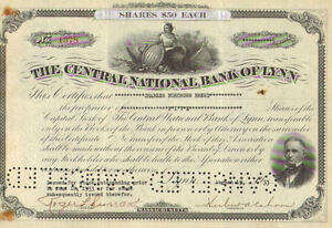 Central-National-Bank-Lynn-gt-1933-Massachusetts-stock-certificate