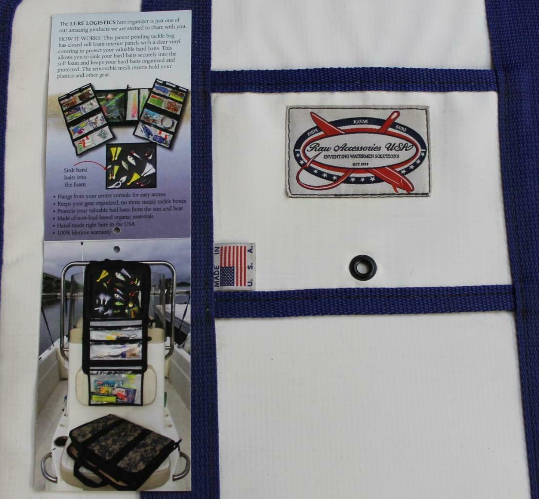 Accesorios Raw lado Suave Señuelo logística Tackle Bolso Gear organizador Personalizable