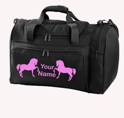 Personnalisé imprimé noir polyvalent cheval design-sac pony boots riding-HO8