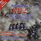 Tchaikovsky: 1812 Overture & Other Orchestral Works Super Audio Hybrid CD (CD, May-2001, Telarc Distribution)