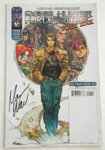 New-SIGNED-Mark-Waid-Free-Comic-Book-Day-Cyber-Force-Hunter-Killer-First-Look