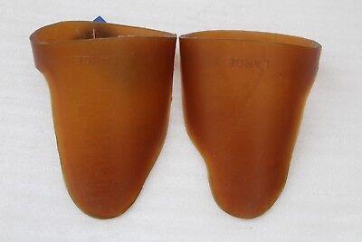 Finn Tack Gummi Hufschutz 19730-LBR-L ohne Clip transparent Größe Large NEU