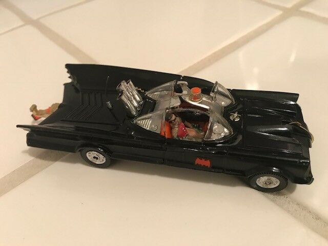 Vintage Corgi Toys MIB Batman Batmobile Clear Windshield Version No. 267