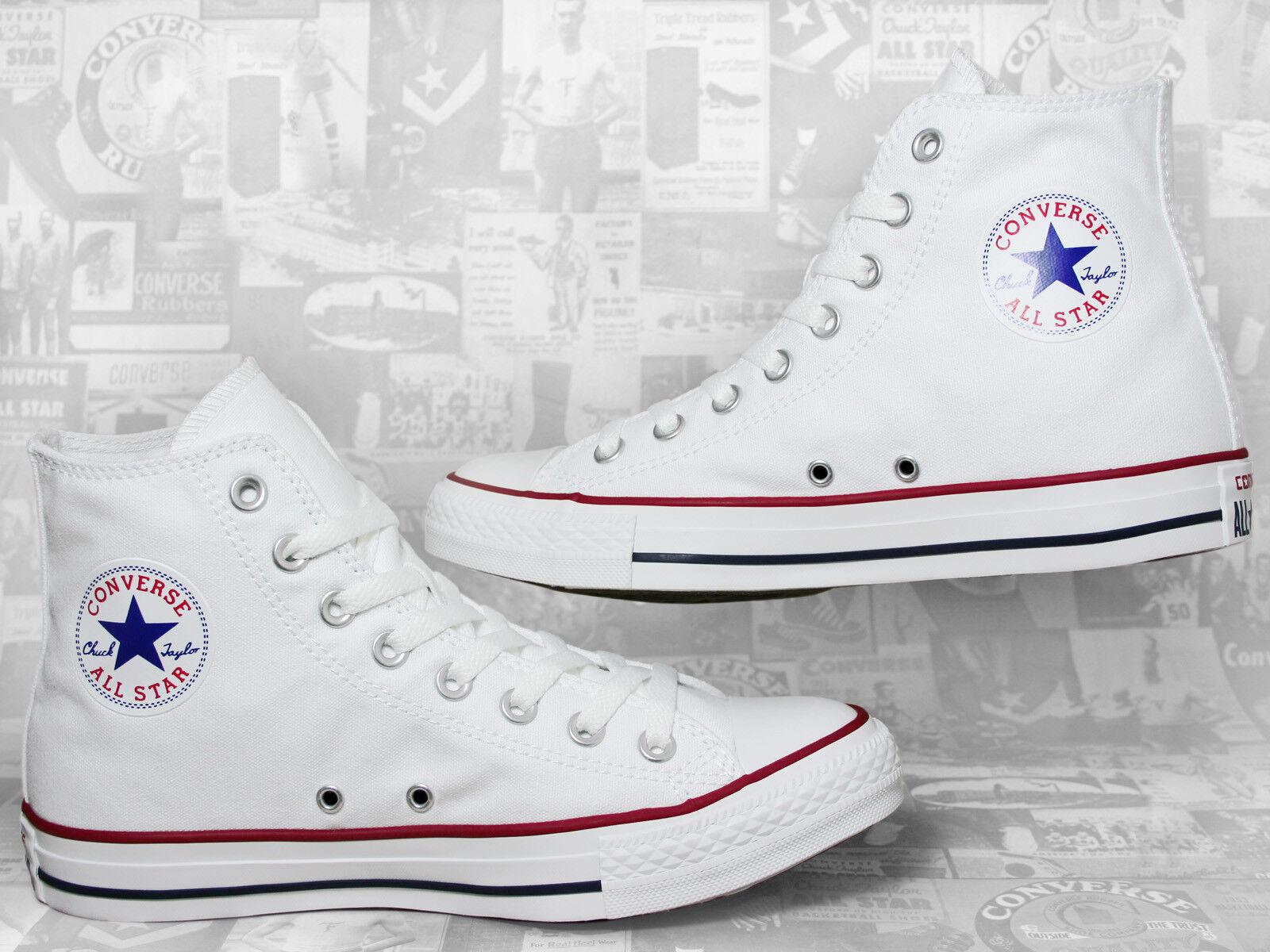 Converse Chuck Taylor Bll Star Chucks Hi Optical White / Weiß M7650C Sneaker