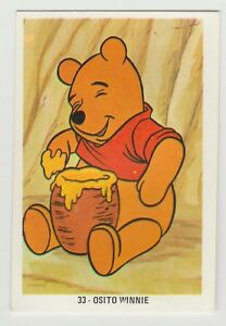 Fher-1970s-Spain-Spanish-Walt-Disney-Trade-Card-33-Winnie-The-Pooh