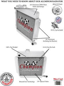 3-Row-Performance-Champion-Radiator-for-1969-1974-BMW-2002tii-L4-Engine