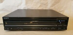 Sony-CDP-C500-Compact-Disc-Player-CD-5-Disc-Carousel-Changer-DOES-NOT-OPEN