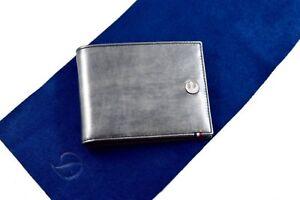 ST Dupont Line D Star Wars Grey Silver Leather 6cc Billfold Wallet ST180251