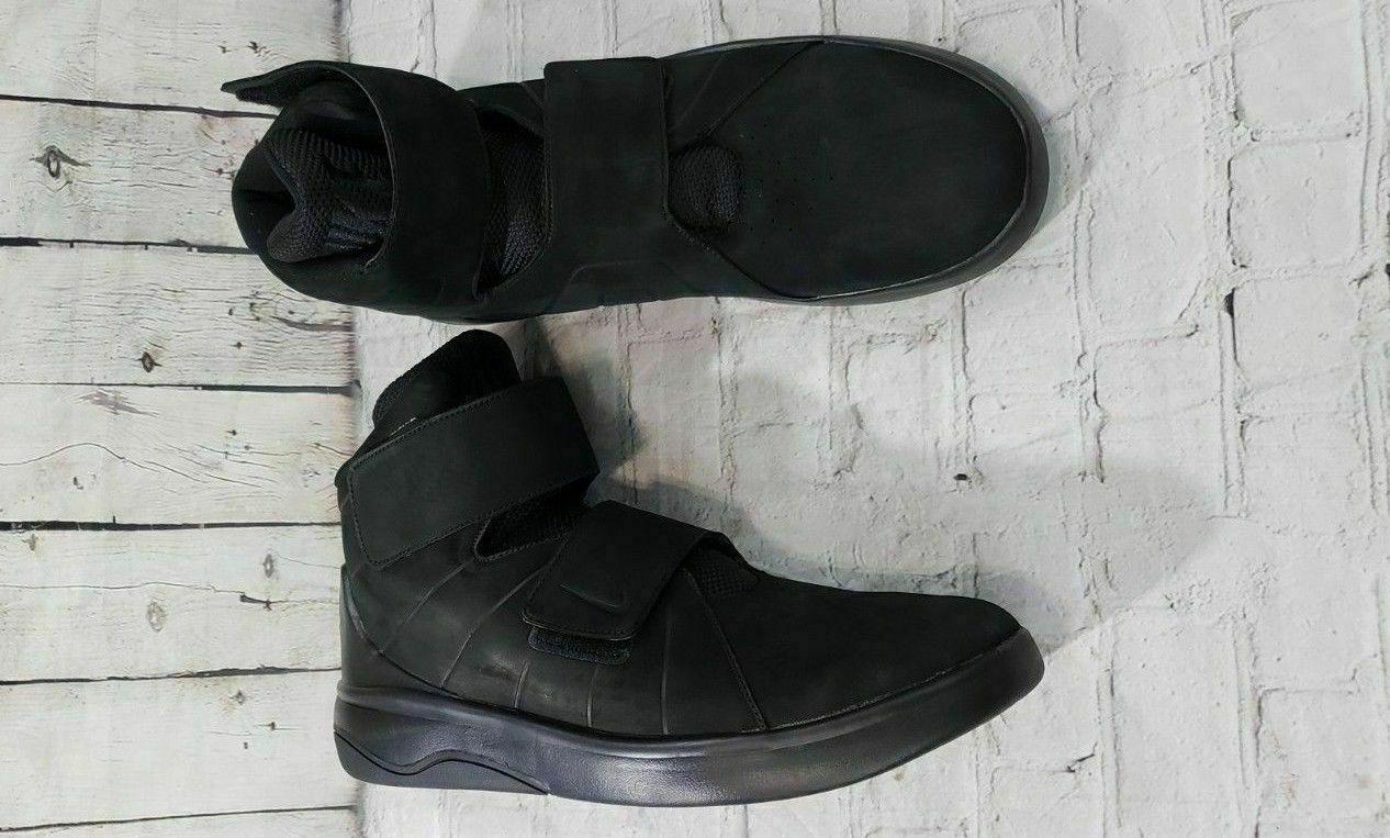 NEW Nike Marxman Prm Premium Black Athletic shoes 832766-002 MEN'S SZ 10.5