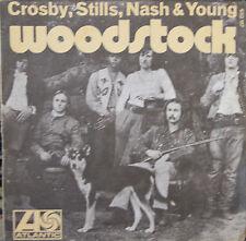 "Vinyle 45T Crosby, Stills, Nash & Young  ""Woodstock"" - RARE"