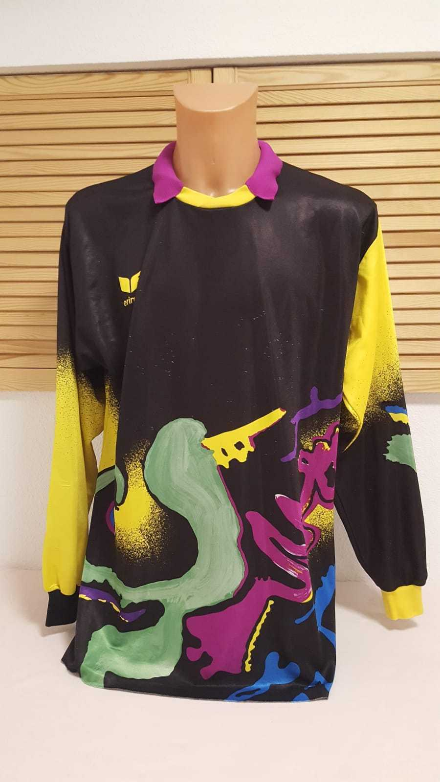 Erima Vintage Retro Torwart Trikot Shirt Jersey Camisola Goalkeeper Maglia XL