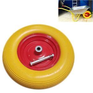 15-034-Wheelbarrow-Wheel-Tyre-PU-Foam-Puncture-Proof-Spare-Rubber-Cart-Rim-DCUK