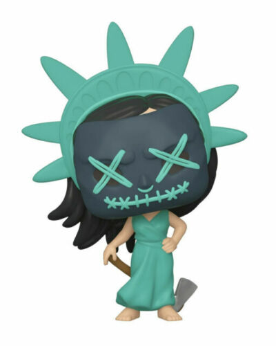 Funko Pop Election Year  # 807 a Lady Liberty Vinyl Figure The Purge Movies