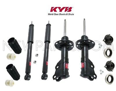 4-KYB Excel-G Struts//Shocks /& Front Mount+Boot 2-Front /& 2-Rear for Mustang