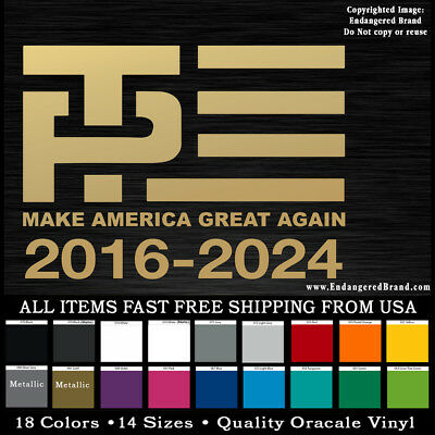 2020 DONALD TRUMP Bumper Sticker MAGA President Re-Election USA NRA