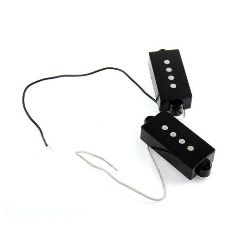 2 Stück Magnet Humbucker offener Pickup für 4-saitige P-Bass Gitarre