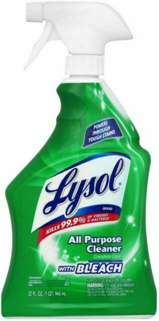 Lysol All-Purpose Cleaner with Bleach - 32oz