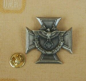 Zollgrenzschutz-Adler-EK-Iron-Cross-Military-Militaria-Pin-Anstecker-Badge-319